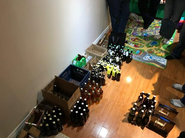 A portion of the homebrew contributed for our first annual advent calendar.